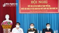 Đại biểu Quốc hội tiếp xúc cử tri 5 xã của huyện Quỳ Hợp