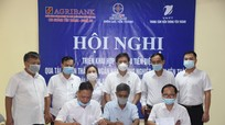 Ký kết hợp tác thu tiền điện không sử dụng tiền mặt tại huyện Yên Thành