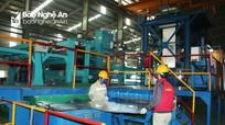 Nghệ An: Sản xuất công nghiệp và kim ngạch xuất khẩu tăng cao