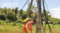 Sản lượng điện tiêu thụ ở Nghệ An tăng vọt dịp nắng nóng