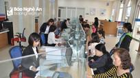 Nghệ An đẩy mạnh thanh toán qua ngân hàng các dịch vụ công
