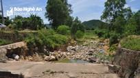 Nhiều công trình thủy lợi ở Hưng Yên Nam (Hưng Nguyên) xuống cấp nghiêm trọng