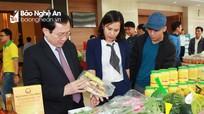 Nghệ An: Trao 86 biên bản tại Hội nghị kết nối cung cầu hàng hóa, dịch vụ