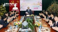 Thủ tướng Chính phủ Nguyễn Xuân Phúc làm việc với Ngân hàng Chính sách xã hội