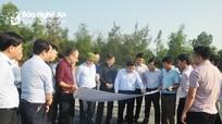 Yêu cầu TP Vinh tiếp tục vào cuộc đẩy nhanh tiến độ đường Vinh - Cửa Lò