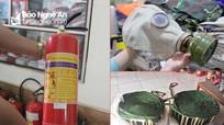 Nghệ An nắng nóng kéo dài, thị trường đồ cứu hỏa 'tăng nhiệt'