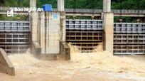 Thủy điện ở Nghệ An thông báo xả lũ sau bão số 4