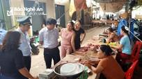Tăng cường kiểm tra buôn bán, giết mổ sản phẩm lợn tại các xã có dịch