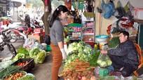 Nghệ An: Rau xanh, thịt bò tăng giá chóng mặt sau tết
