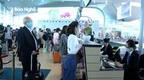 Nghệ An bố trí máy đo thân nhiệt tại Cảng hàng không quốc tế Vinh