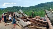 Lốc xoáy gây thiệt hại ở miền Tây Nghệ An