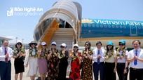 Khai trương 3 đường bay Vinh - Phú Quốc, Nha Trang, Cần Thơ