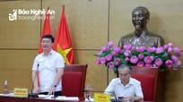Chủ tịch UBND tỉnh Nguyễn Đức Trung: Xử lý nghiêm công chức gây phiền hà, khó dễ cho doanh nghiệp