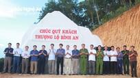 Anh Sơn khánh thành công trình biển hiệu địa phận huyện