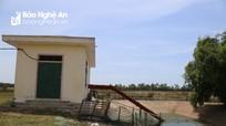 Trạm bơm tiền tỷ ở Nghệ An 7 năm dang dở, nhiều diện tích đất nông nghiệp bỏ hoang