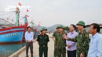 Bộ Tư lệnh Quân khu 4 kiểm tra công tác ứng phó cơn bão số 7 tại Nghệ An