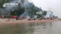 Hội Nông dân Nghệ An ra quân làm sạch môi trường biển