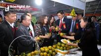 Khai mạc Hội chợ Công Thương vùng Bắc Trung Bộ và giới thiệu sản phẩm xanh khu vực HTX và làng nghề tỉnh Nghệ An