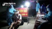 Nghệ An: Phát hiện 4 công dân ở vùng dịch trên xe giường nằm đi vào Nam