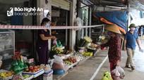 Quỳnh Lưu siết chặt công tác phòng, chống dịch ở các chợ dân sinh