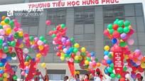Trường Tiểu học Hưng Phúc khánh thành và khai giảng năm học mới