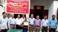 Hỗ trợ 100 triệu đồng xây dựng nhà tình nghĩa cho thân nhân liệt sỹ ở Diễn Châu