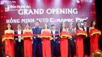 Khai trương tổ hợp chăm sóc và hoàn thiện xe hơi hiện đại tại Tp Vinh