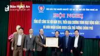 Hội Bảo trợ người khuyết tật và trẻ mồ côi đón nhận Bằng khen của Thủ tướng Chính phủ