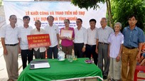 Đồng hành cùng gia đình chính sách, hỗ trợ người nghèo ở các địa phương