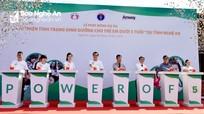 Phát động Dự án 'Cải thiện tình trạng dinh dưỡng cho trẻ em dưới 5 tuổi' ở Nghệ An