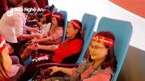 Gần 1.200 người tham gia ngày 'Chủ nhật đỏ'