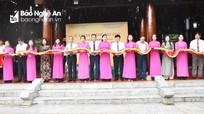 Nghệ An: Khánh thành và bàn giao 4 hạng mục đầu tư tại Khu di tích Kim Liên