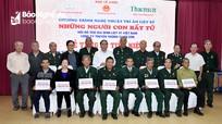 Trao tặng 22 sổ tiết kiệm cho người có công với cách mạng ở Nghệ An  