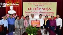Thành phố Hồ Chí Minh hỗ trợ Nghệ An khắc phục thiệt hại do lũ lụt