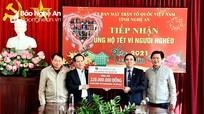 Hơn 50 tỷ đồng đăng ký ủng hộ Tết Vì người nghèo Xuân Tân Sửu
