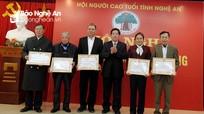 Hội nghị BCH mở rộng Hội Người cao tuổi Nghệ An