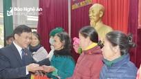 Đoàn đại biểu Quốc hội tỉnh thăm, tặng quà Tết cho hàng trăm hộ nghèo