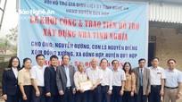 Hội Hỗ trợ gia đình liệt sỹ trao tiền xây nhà tình nghĩa cho thân nhân liệt sỹ ở Quỳ Hợp
