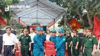 TP Vinh: Truy điệu và an táng hài cốt liệt sĩ hy sinh ở đường 9, Quảng Trị