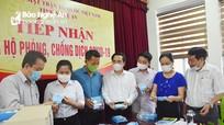 21 nghìn khẩu trang ủng hộ lực lượng làm công tác phòng, chống dịch tại Nghệ An