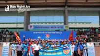 FC Anh Sơn vô địch Giải bóng đá thanh niên Nghệ An tại Hà Nội