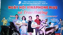 VNPT  - Nghệ An trao xe máy, điện thoại cho khách hàng trúng thưởng