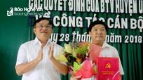 Đô Lương bổ nhiệm Trưởng ban Tuyên giáo đồng thời là Giám đốc TT bồi dưỡng chính trị
