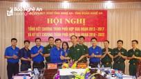 Bộ Chỉ huy BĐBP tỉnh và Tỉnh đoàn ký kết chương trình phối hợp