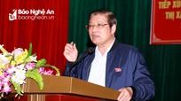"""Đồng chí Phan Đình Trạc: """"Không có cái gì của cán bộ ngoài tầm kiểm soát của nhân dân"""""""