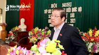 Đồng chí Phan Đình Trạc đề nghị đối thoại giải quyết tồn tại tái định cư thủy điện Hủa Na
