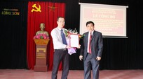 Bổ nhiệm Trưởng Đài TT - TH thị xã Thái Hòa giữ chức Bí thư Đảng ủy phường Long Sơn