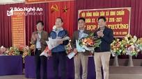 Tân Chủ tịch, Phó Chủ tịch UBND xã Bình Chuẩn (Con Cuông)