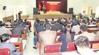 Bầu bổ sung Trưởng ban Kinh tế - Xã hội HĐND huyện Quỳ Hợp
