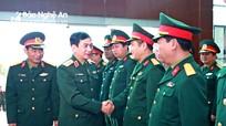 Thứ trưởng Bộ Quốc phòng Phan Văn Giang thăm, làm việc tại Bộ CHQS tỉnh